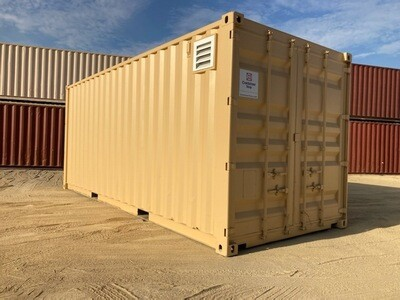 20' Standard, Cargo Worthy Container  -SOLD-