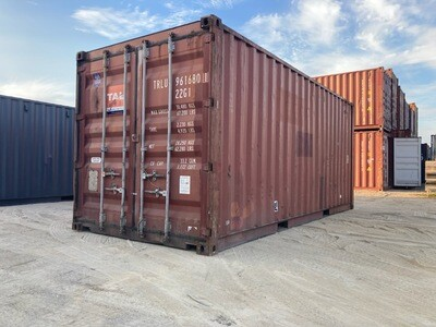 20' Standard, Cargo Worthy Container- SOLD-