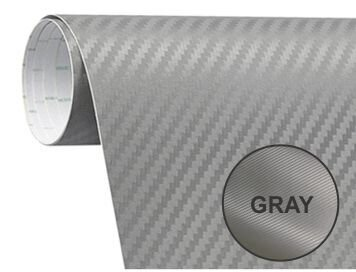 Papel Fibra De Carbono 200x50 Gris
