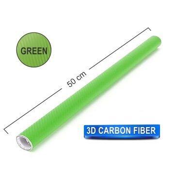 Papel Fibra de Carbono 200x50 Green