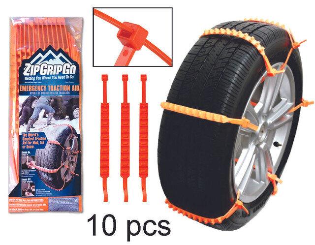 TieWrap para ruedas barro y la nieve 10 pcs