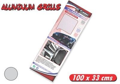 Rejilla Aluminio 100 x 33 cms