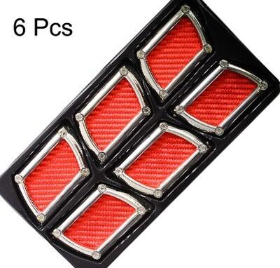 Simuladores de Aire Triple Cuadrado Rojo