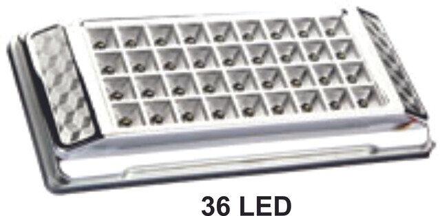Lampara Rectangular 36Led