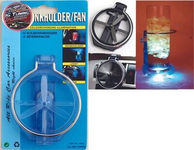 Porta Vasos Helice Con Luz