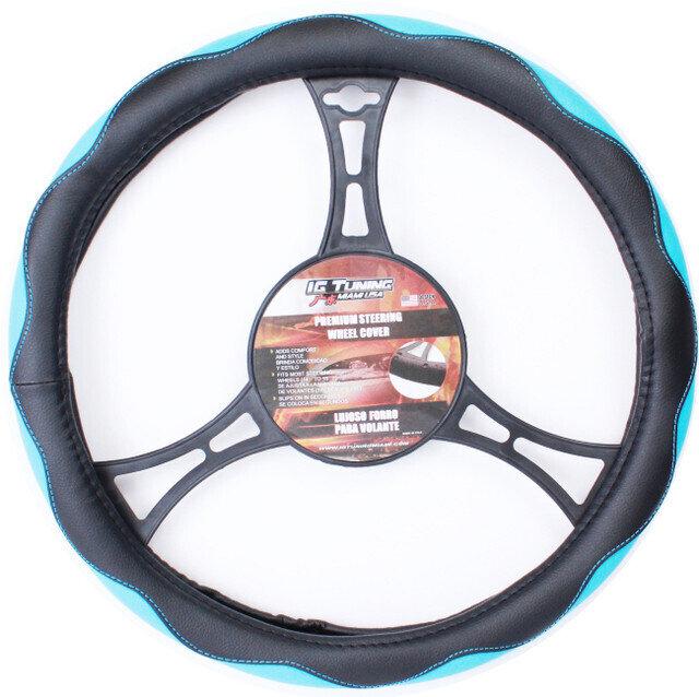 Forro Curvas Negro-Azul