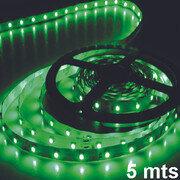 Rollo De Cinta Led 5 Mts 300 Led Verde
