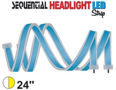 Cinta Secuencial LED 60 cm Blanco