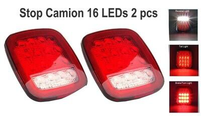 Stop Camion 16 LEDs 2 pcs