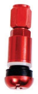 Valvula Ring Aluminio Rojo