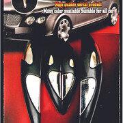 Protector De Puerta Ac-0455 Cromo Negro