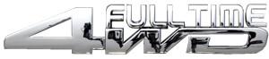 Emblema 4Wd Full Time