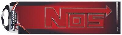 Emblema Nos Cromo-Roja