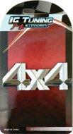 Emblema 4X4 Dimante
