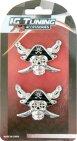 Emblema Piratas 2Pcs