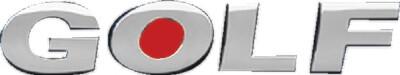 Emblema De Letras Golf