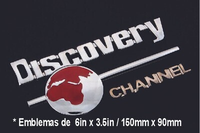 Emblema Discovery Channel