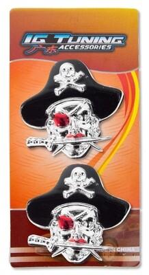 Emblema Pirata Cuchillo 2 pcs