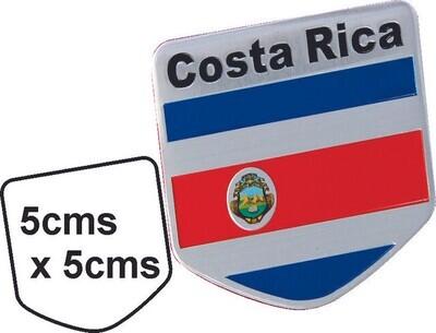 Emblema metal Bandera Costa Rica
