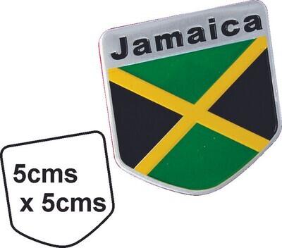 Emblema metal Bandera Jamaica