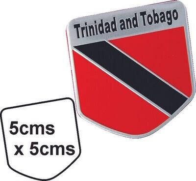 Emblema metal Bandera Trinidad