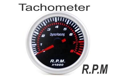 Reloj Pantalla Negra Tacometro