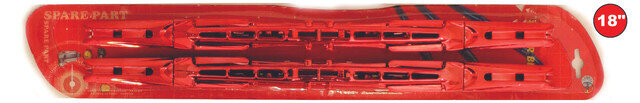 Cepillo Arista Rojo 18