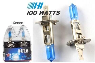 Xenon Super White H1 100W