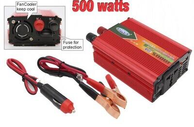 Convertidor 12v a 110v 500 Watts