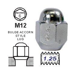 Tuerca Acorn 30mm 12X1.25