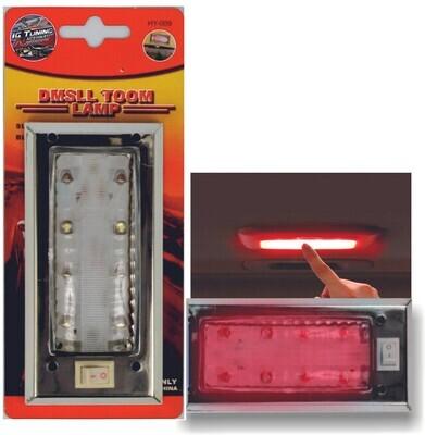 Lampara De Techo De Led Tipo G 2000 Rojo
