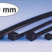 Tirras Plasticos Negros 250 mm