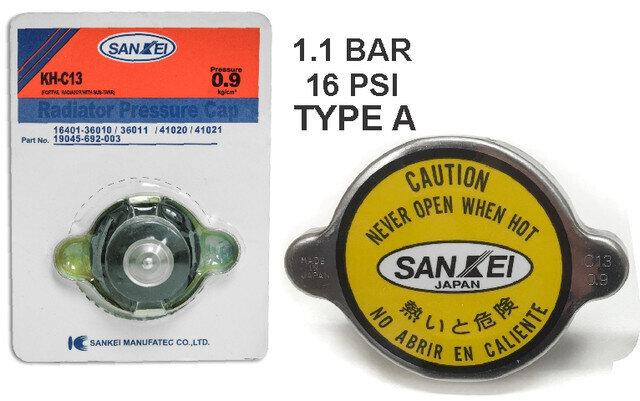 Tapa Radiador Sankey tipo A 1.1 Bar Grande