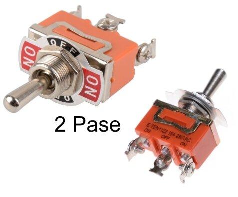 Switch Mediano Naranja 2 Pase