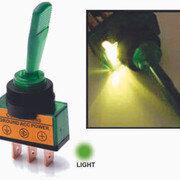 Switch Palanca Grande C Luz Verde