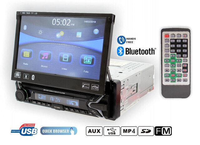 Radio Rep 1 DIN Pantalla abatible multimedia