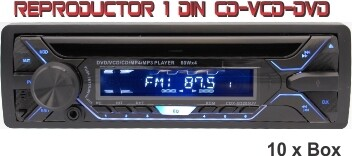 Reproductor 1 din CD-VCD-DVD