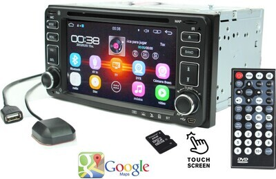 Radio rep Android Double 2DIN advanzado