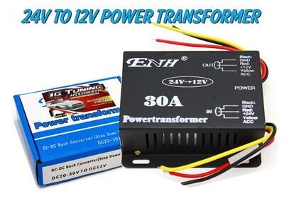 Transformador de 24 V a 12 V 30 amps