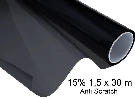 Papel Polarizado Anti scratch 15% 1,5 x 30 m
