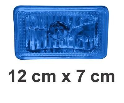 Faro Cuadrado 12X7 Azul