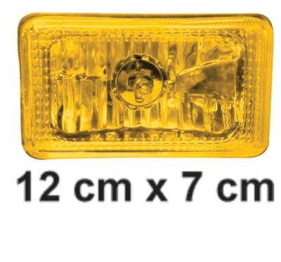 Faro Cuadrado 12X7  Amarillo