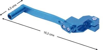 Pata Arranque Moto Azul