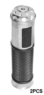 Pu�os Moto 2 Pcs Aluminio Mix