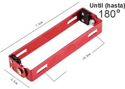 Porta Placa base Moto aluminio