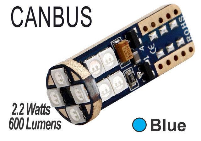 Muelita LED 6 SMD 2 pcs Azul