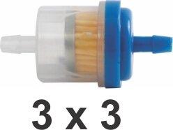 Mini Filtro Gasolina 3X3