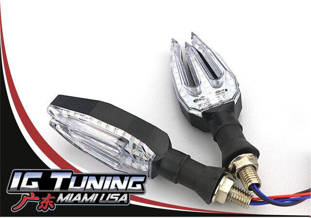 Luz Cruce Moto Trident 2 pcs