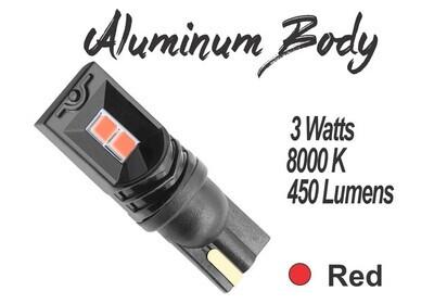 Muelita LED 2x2 SMD Canbus 2 pcs Rojo