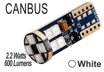 Muelita LED 12 Led Canbus 2 pcs White